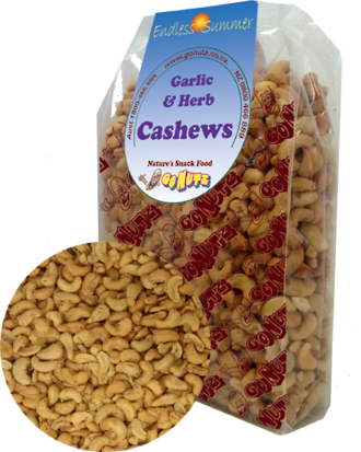 Cashews Garlic & Herb Roasted Salted - 1kg 1pk