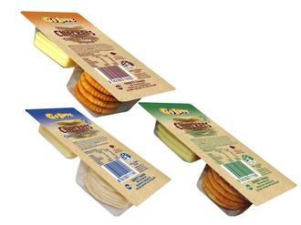 Cheese & Crackers 40g - 32x variety box