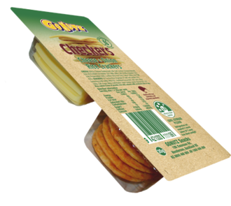 Cheese & Onion Rice Crackers 35g - 32box
