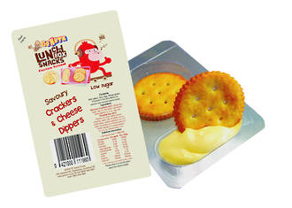Dippers Savoury Crackers & Cheese 144g - 72 singles