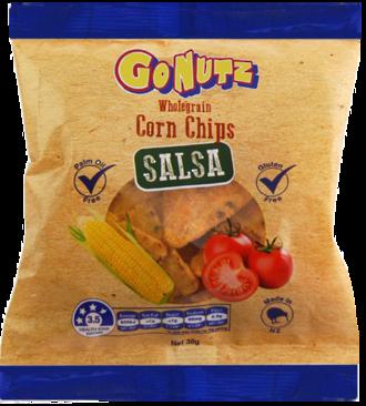 Corn Chips Wholegrain Salsa GF 38g - 24 Units