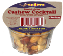 Cashew Cocktail Tub 45g - 12 Tray