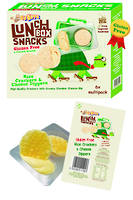 Dippers Rice Crackers & Cheese 114g - 6 Multipack