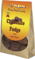 Home Style Chocolate Fudge 200g - 12 Units
