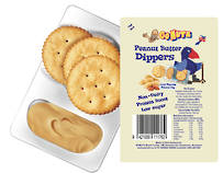 Dippers Peanut Butter132g - 72 Singles
