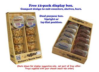 Display Box Only for 45g-50g snack tubs