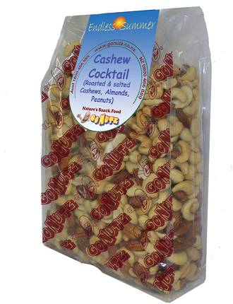 Cashew Cocktail Roasted Salted - 1kg 1pk