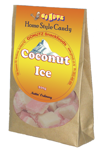 Home Style Coconut Ice 200g - 12 Units