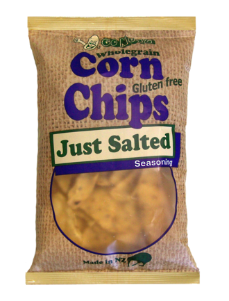 Corn Chips Wholegrain Just Salted GF 150g - 12 Units
