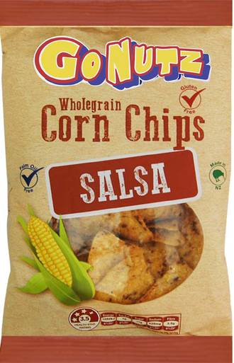 Corn Chips Wholegrain Salsa GF 150g - 12 Units