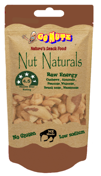 Nut Naturals Pouch 40g - 12 Tray