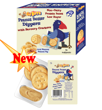 Dippers Peanut Butter 132g - 12 Multipack