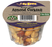 Almond Cocktail Tub  50g - 12 Ctn