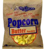 GONUTZ Popcorn Butter GF 30g bag - 18 Units