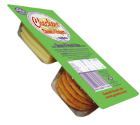 Cheese & Onion Rice Crackers 35g - 16pk Display