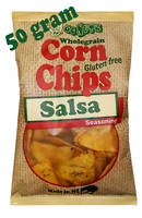 Corn Chips Wholegrain Salsa GF 50g - 30 Units