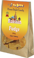 Home Style Russian Fudge 200g - 6 Units