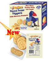 Dippers Peanut Butter 132g - 6 Multipack