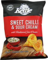 Kettle Chips Sweet Chilli & Sour Cream 40g - 24 Ctn